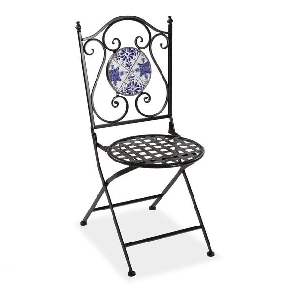 Garden chair Tile Metal (50 x 92 x 39 cm)