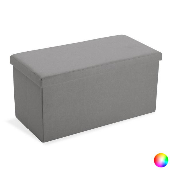 Storage chest with seat Length Detachable Linen MDF Wood (38 x 37,5 x 76,5 cm)
