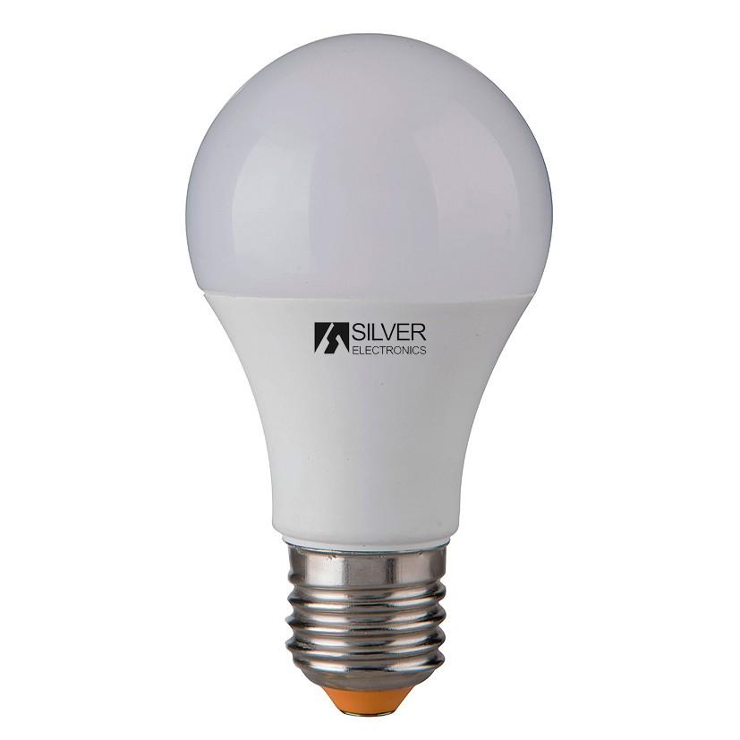 Spherical LED Light Bulb Silver Electronics 980927 E27 10W Warm light