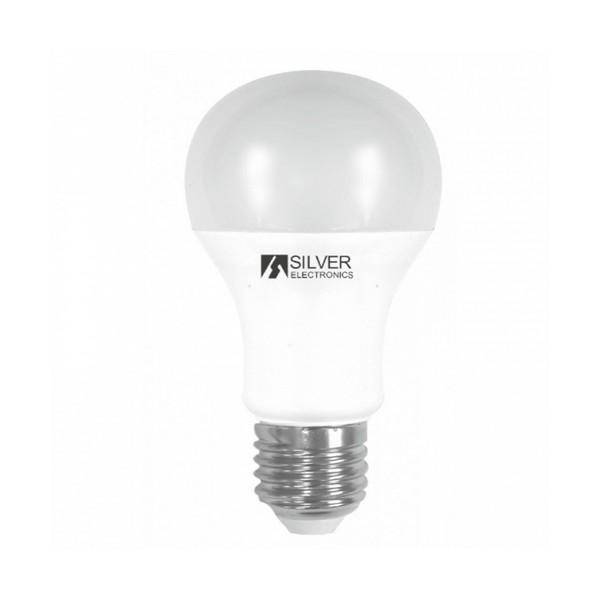 Spherical LED Light Bulb Silver Electronics 980527 E27 15W Warm light