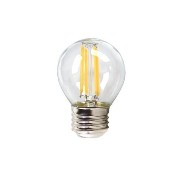 Bombilla LED Esférica Silver Electronics 1960327 E27 4W 3000K A++ (Luz cálida)