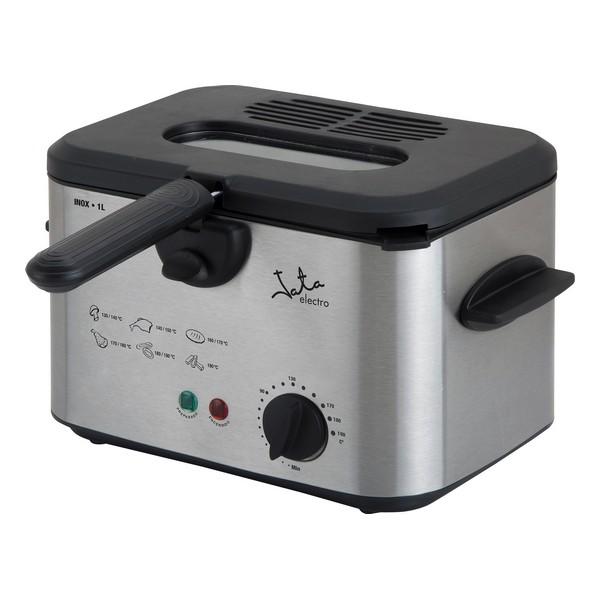 Deep-fat Fryer JATA FR226 1 L 1200W Stainless steel