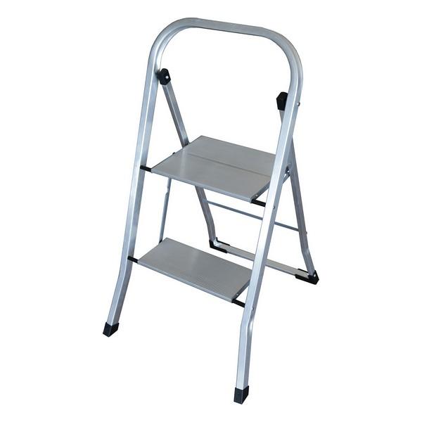 2-step folding ladder Altipesa ULTRALIGHT Aluminium