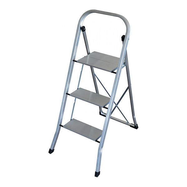 3-step folding ladder Altipesa ULTRALIGHT Aluminium
