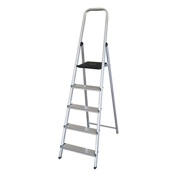 5-step folding ladder (175 x 45 x 12 cm)