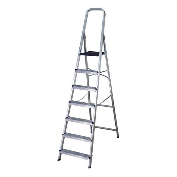 7-step folding ladder (222 x 50 x 12 cm)