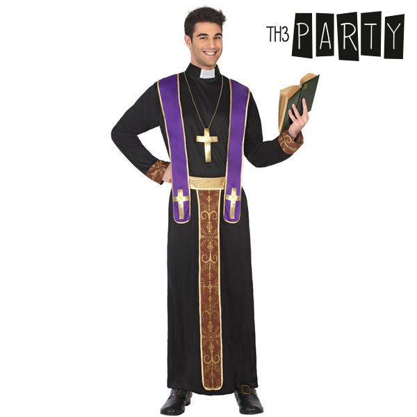 Costume for Adults 635 Priest (3 Pcs)