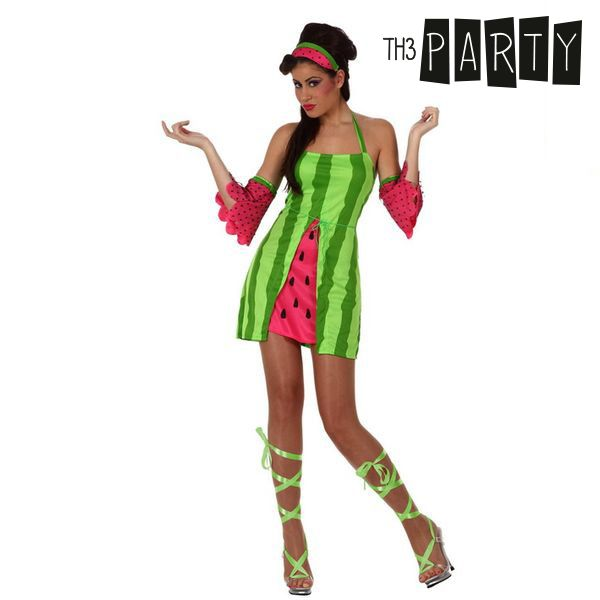 Costume for Adults 5206 Watermelon (4 Pcs)