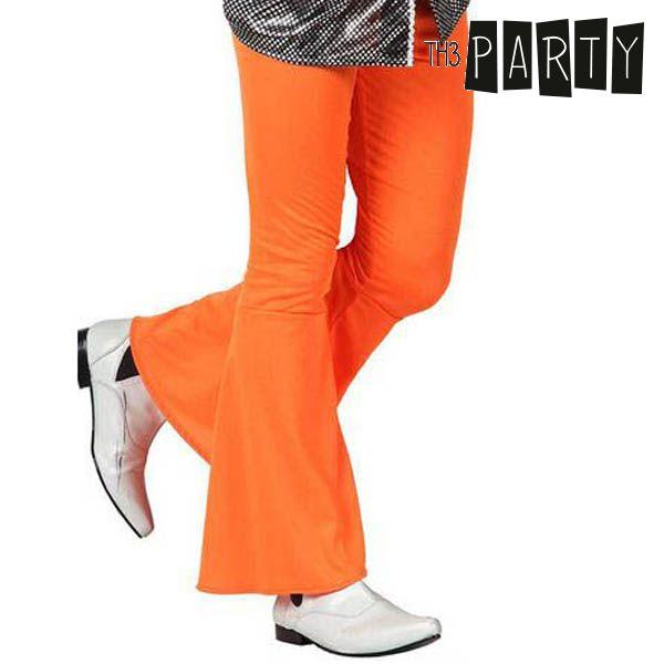 Adult Trousers Disco Orange