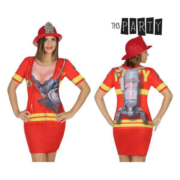 Adult T-shirt 6667 Firewoman