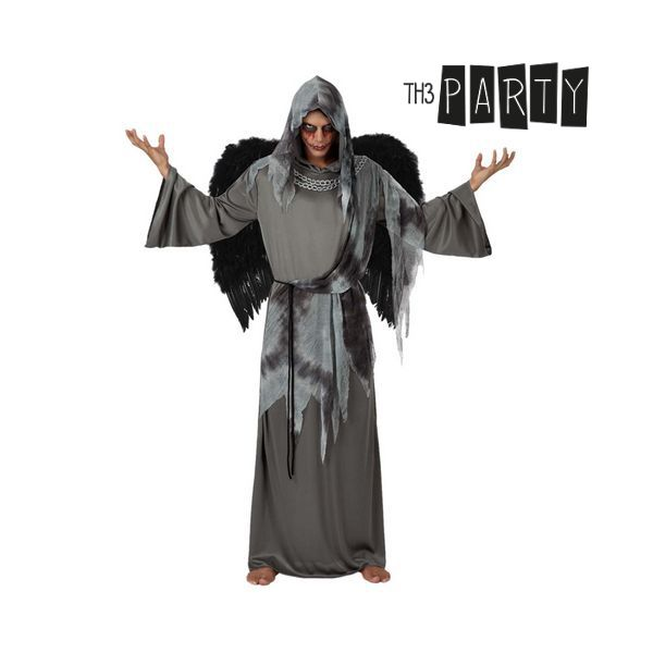 Costume for Adults 9361 Black angel (2 Pcs)
