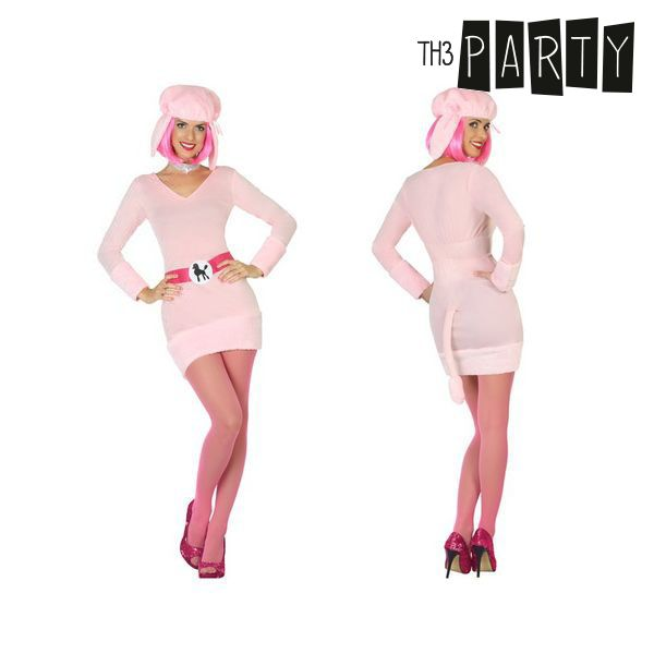 Costume for Adults Dog Pink