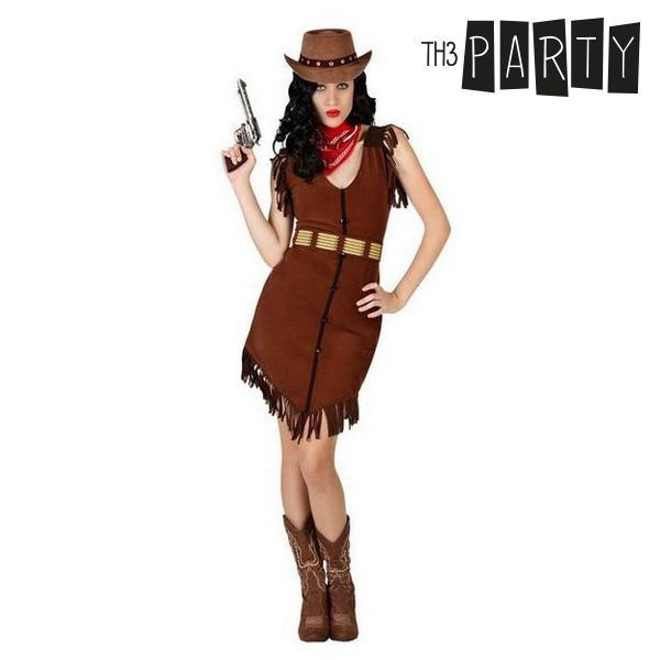 Costume for Adults Cowgirl (3 Pcs)
