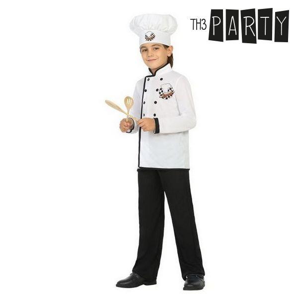 Costume per Bambini Cuoco (3 Pcs)