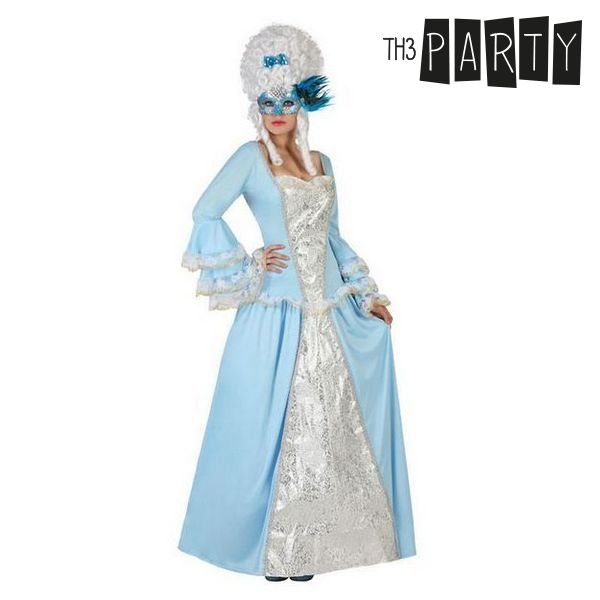 Costume for Adults Female courtesan Blue