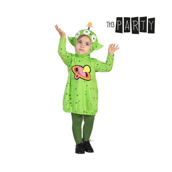 Costume for Babies Alien Green