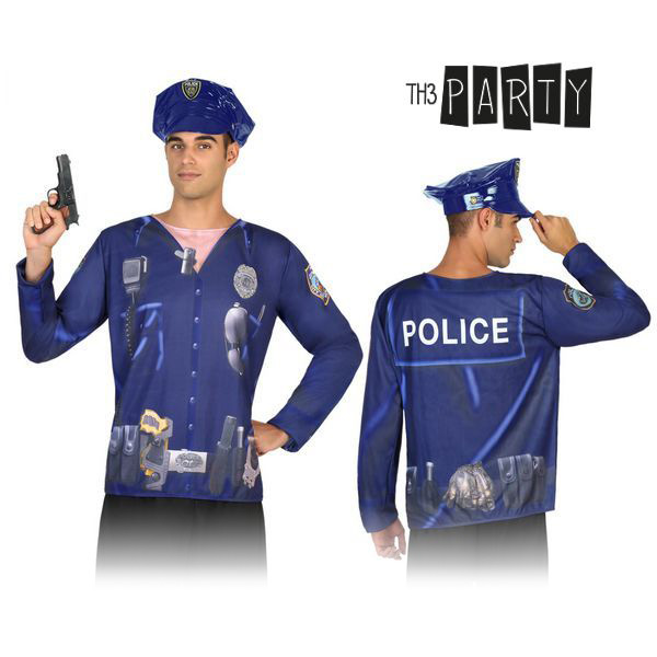 Adult T-shirt 7598 Policeman