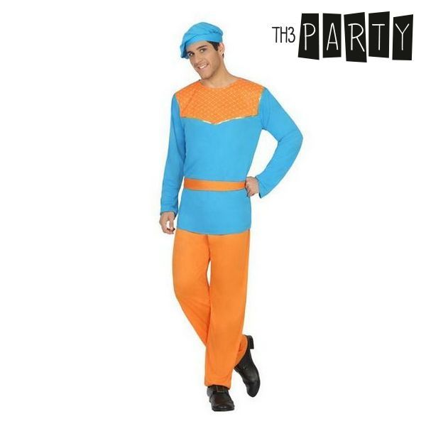 Costume for Adults Haystack Blue (4 Pcs)