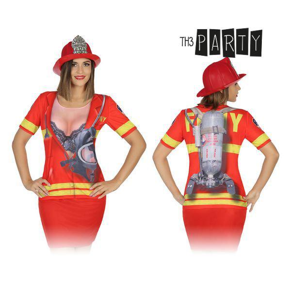 Adult T-shirt 8263 Firewoman