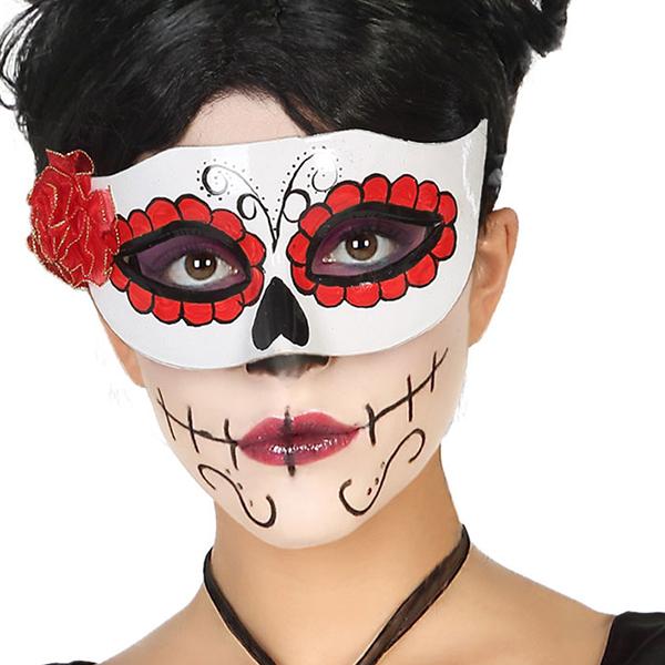Blindfold Halloween White