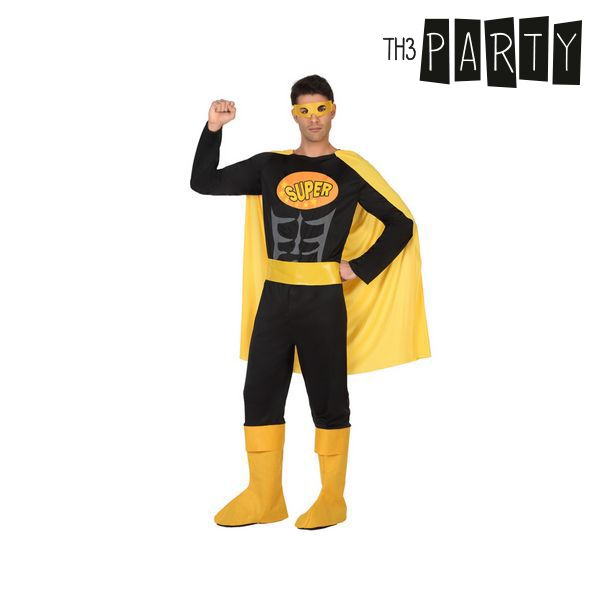 Costume for Adults Superhero Black