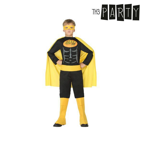 Costume for Children Superhero Black