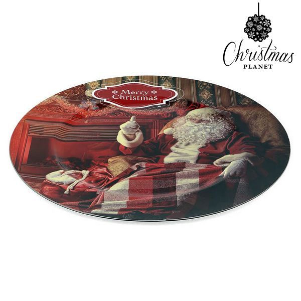 Decorative Plate Christmas Planet 1154 Father christmas