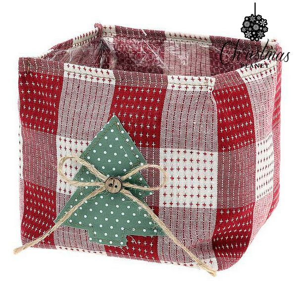 Basket Christmas Planet 8844 Red