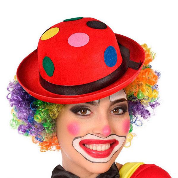 Cappello Pagliaccio Rosso 114542