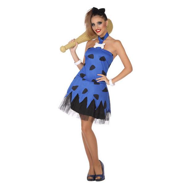 Costume for Adults Caveman Blue (2 Pcs)