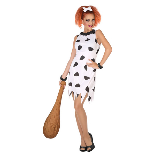 Costume for Adults Caveman White (1 Pc)