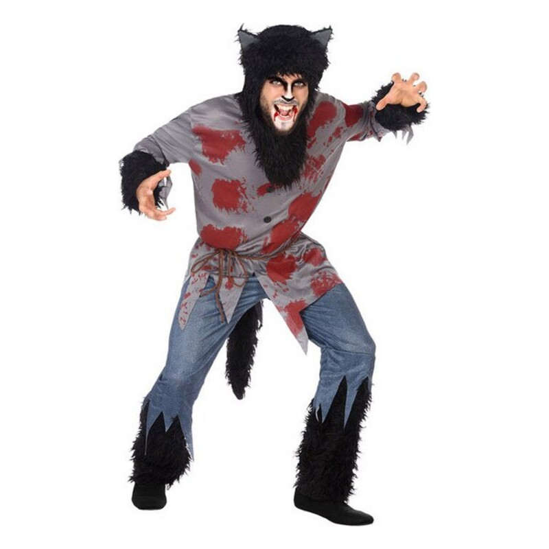 Costume for Adults Blood Wolf (4 pcs)