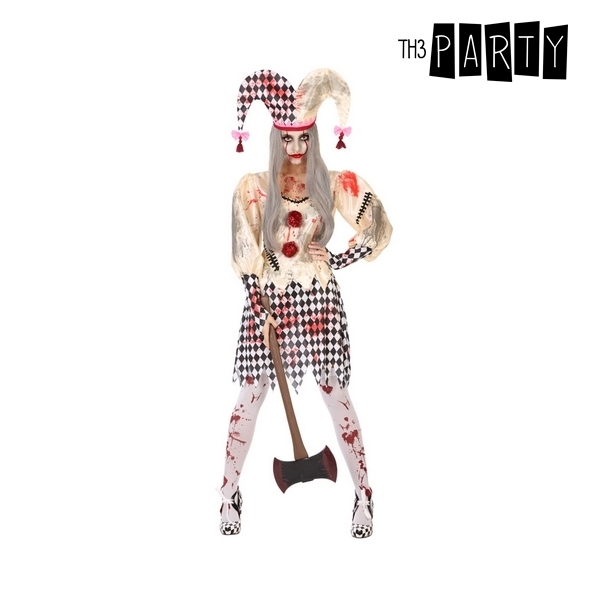 Costume for Adults Bloody harlequin (2 Pcs)