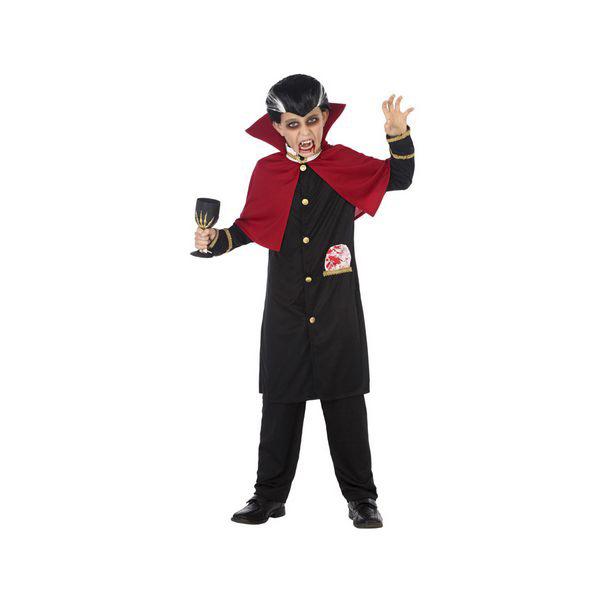 Costume per Bambini Vampiro Nero (2 Pcs)