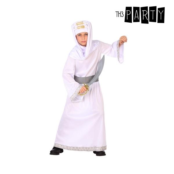 Costume for Children Arab White (3 Pcs)