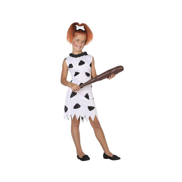 Costume for Children Caveman White (1 Pc)