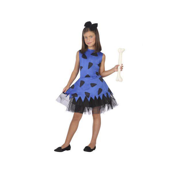 Costume for Children Caveman Blue (2 Pcs)