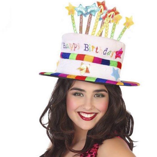 Birthday Hat (59 cm) Multicolour