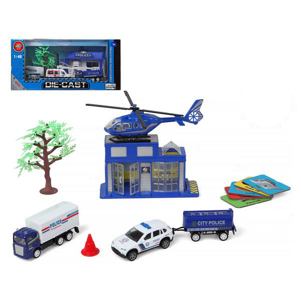 Police Vehicles and Accessories Set 118848