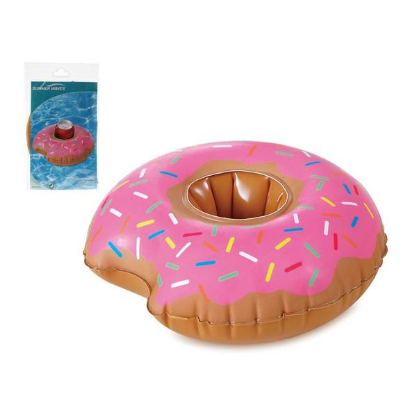 Floating drink holder Donut Pink (25 X 23 cm)