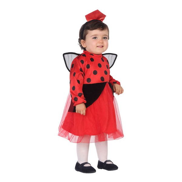 Costume for Babies 113541 Ladybird Red (3 Pcs)