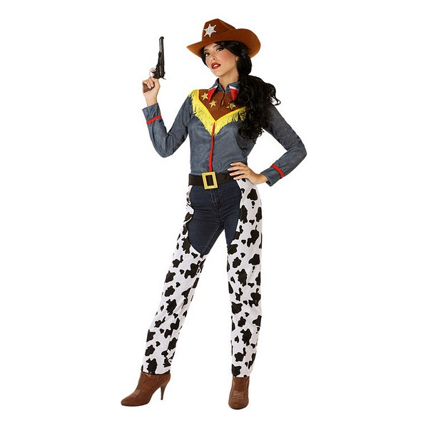 Costume for Adults 114517 Cowgirl White