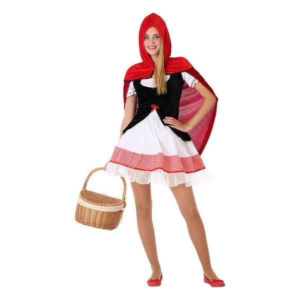 Costume for Children 116177 Little red riding hood (Size 14-16 years)