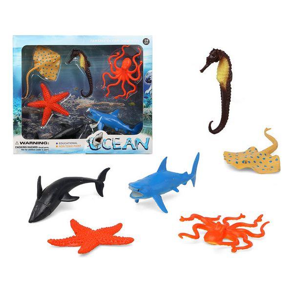 Komplet 6 živali iz džungle Ocean 110364