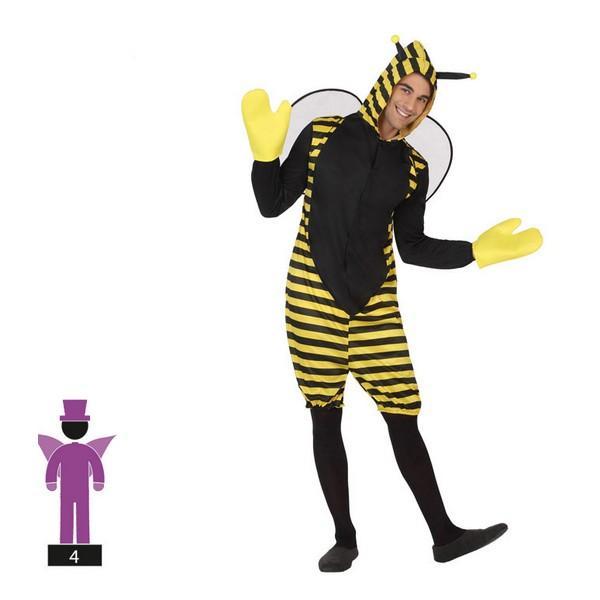 Costume for Adults (Talla XXL) Bee (4 Pcs)