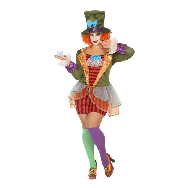 Costume for Adults 115413 Crazy female milliner Multicolour (2 Pcs)