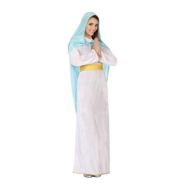 Costume for Adults 115819 Virgin White Sky blue (2 Pcs)