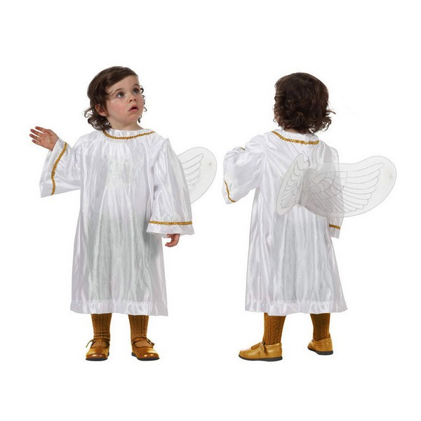 Costume for Babies 115857 Angel White (2 Pcs)