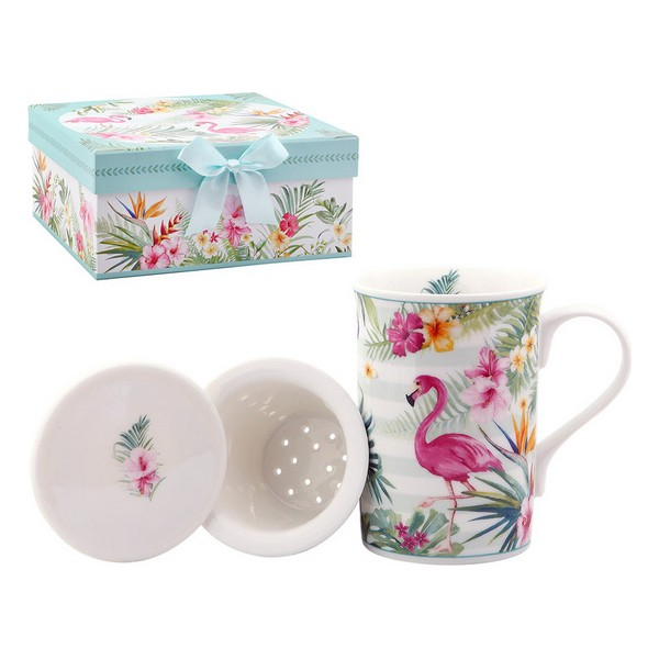 Cup with Tea Filter 116137 Flamenco
