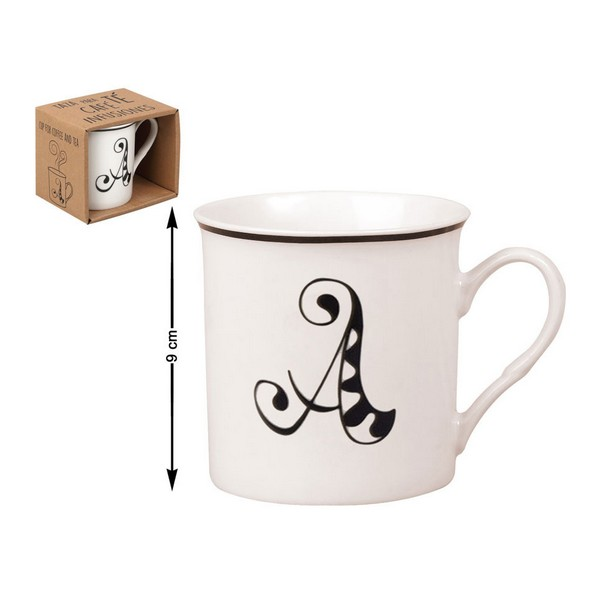 Ceramic Mug Letters (310 Ml)